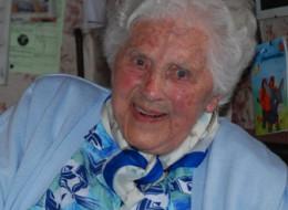 Georgine Boucherie a 100 ans