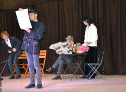 Le théâtre de l'association Á l'heure anglaise