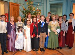 Á l'Heure anglaise fête Noël au Château