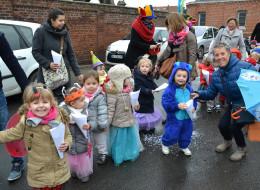 Carnaval à l'école Saint-Charles