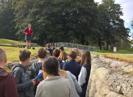 Les 3e du collège Saint-Martin et la bataille de la Somme