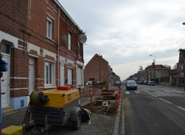 Fuite de gaz, rue d'Armentières