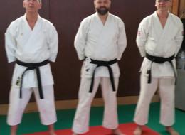 Ceintures noires au Taï Jitsu Nieppe