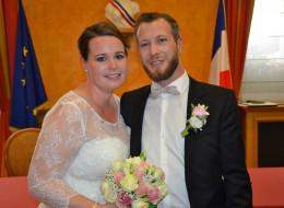 Mariage de Martin Pinte avec Charlotte Cartignies