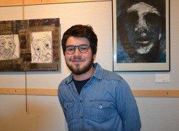 Exposition David Jeronimo à l'epace culturel Maurice Schumann