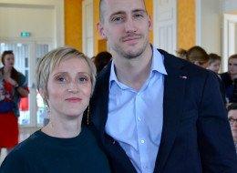 Mariage Cédric Degand avec Sandrine Guetiere