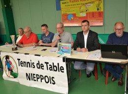 Assemblée générale du Tennis de table nieppois