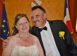 Mariage de Cathy Doolaeghe avec Alain Arons