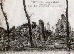En 1918, Nieppe est en ruines