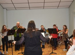 Audition des classes de violons