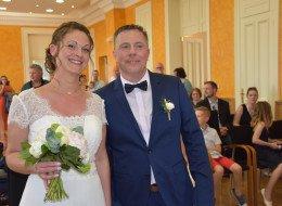 Mariage de Ludovic Cremery avec Leslie Cordenier