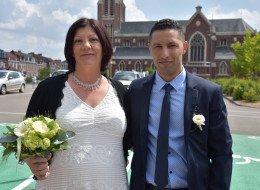 Mariage Mohamed Abidi et Rebecca Bouvet