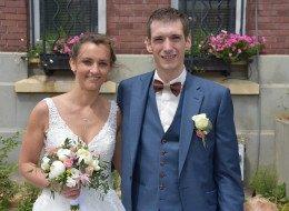 Mariage de Florent Renaud avec Marine Willemot