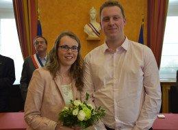 Mariage Antoine Deconninck avec Lydie Walbrou