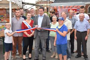 la maire Roger Lemaire a inauguré la ducasse d'été