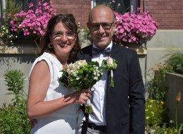 Mariage Virginie Dhonner avec Laurent Petit