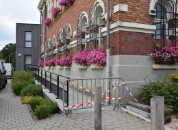 Accès handicapés de la mairie