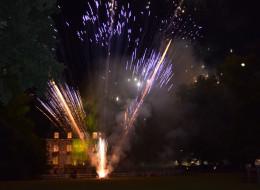 Feu d'artifice au Château