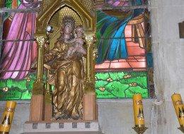 La Vierge au Sceptre de l'église Saint-Martin