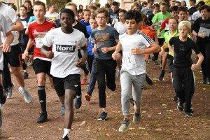Les élèves ont couru pour Handisport