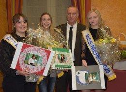 Remise des cadeaux à Miss Nieppe et ses dauphines