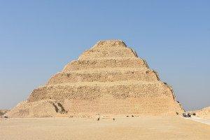 La pyramide à degrés de Saqqarah