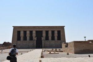 Le temple d'Hathor