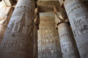 Les colonnes hathoriques