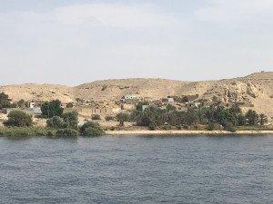 Village sur les berges du Nil