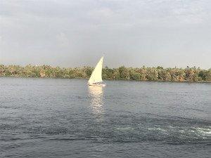 Une felouque sur le Nil