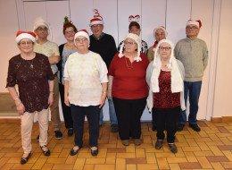 Noël au club Amitié Loisirs