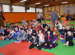 Goûter de Noël au Judo club nieppois