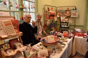 Des produits anglais pour fêter Noël étaient également en vente