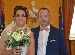 Mariage de Pascal Legrand avec Hélène Thery
