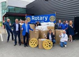 Le Rotary club de Nieppe lutte contre la pandémie