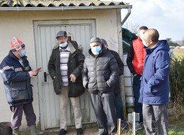 Les plots des jardins ouvriers seront remplacés par un portail anti caravanes